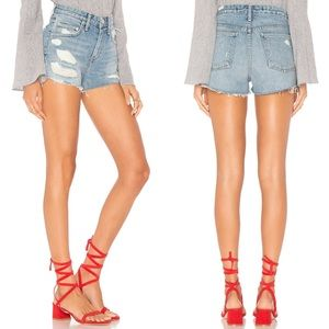 Lovers + Friends | Jack High Short Distressed Jean